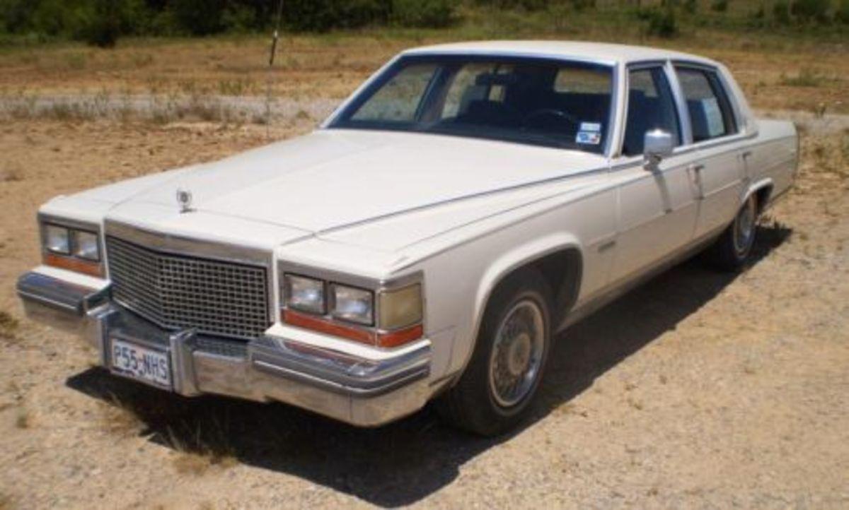 1981 Cadillac Fleetwood V8-6-4