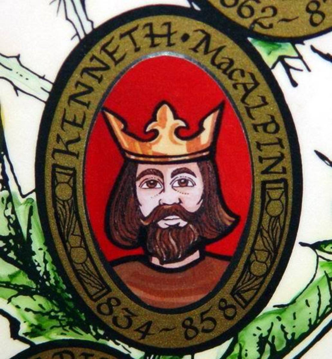 FIRST KING OF SCOTLAND KENNETH MACALPIN
