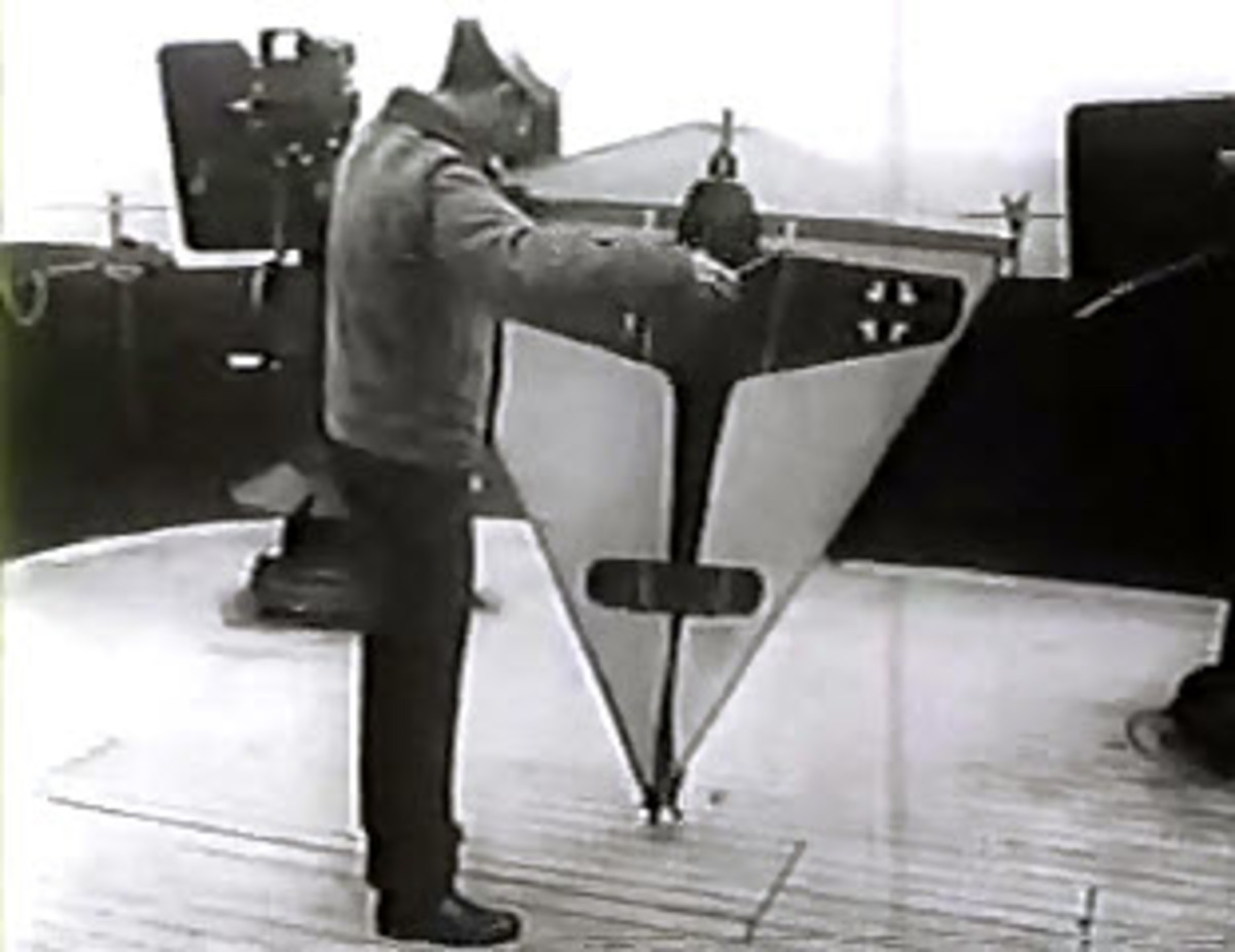 World War 2 Target Kite Used For Gun Crew Training