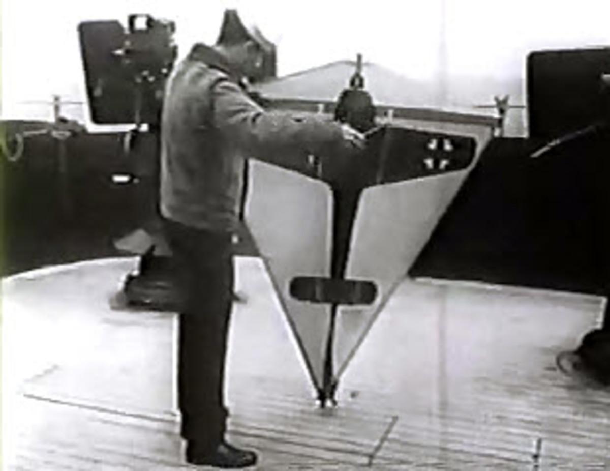 World War 2 Target Kite Used For Gun Crew Training