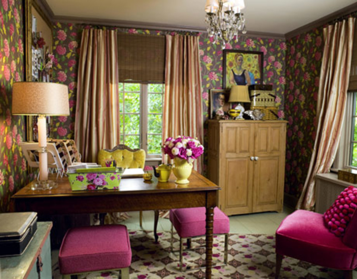 Photo Credit: Keith Scott Morton, posted in Country Living. http://www.countryliving.com/homes/makeovers/office-guest-room-makeover-0109