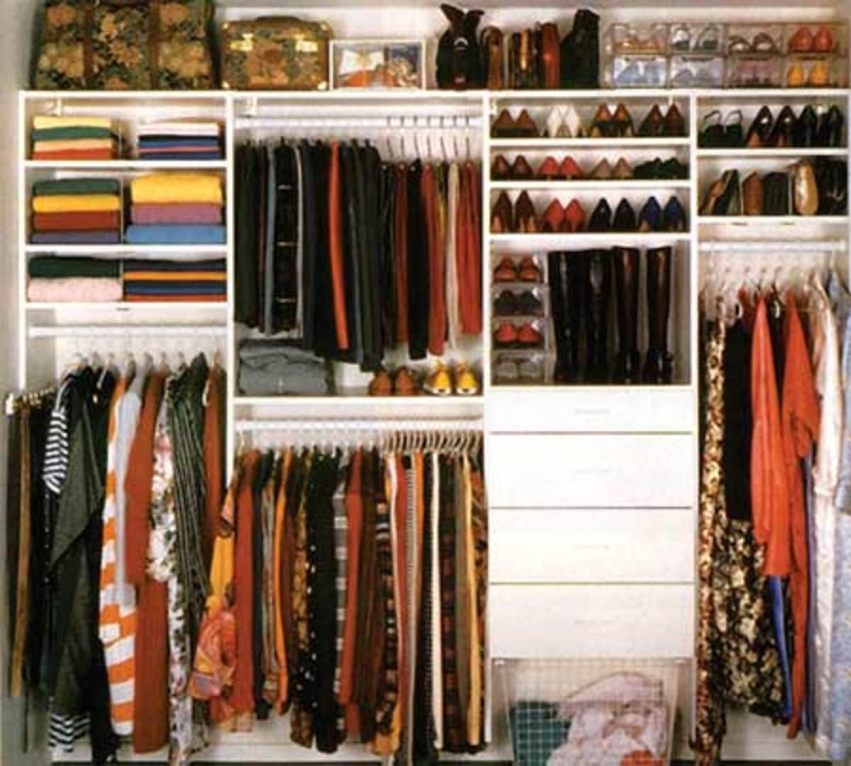 A Closet Organization System