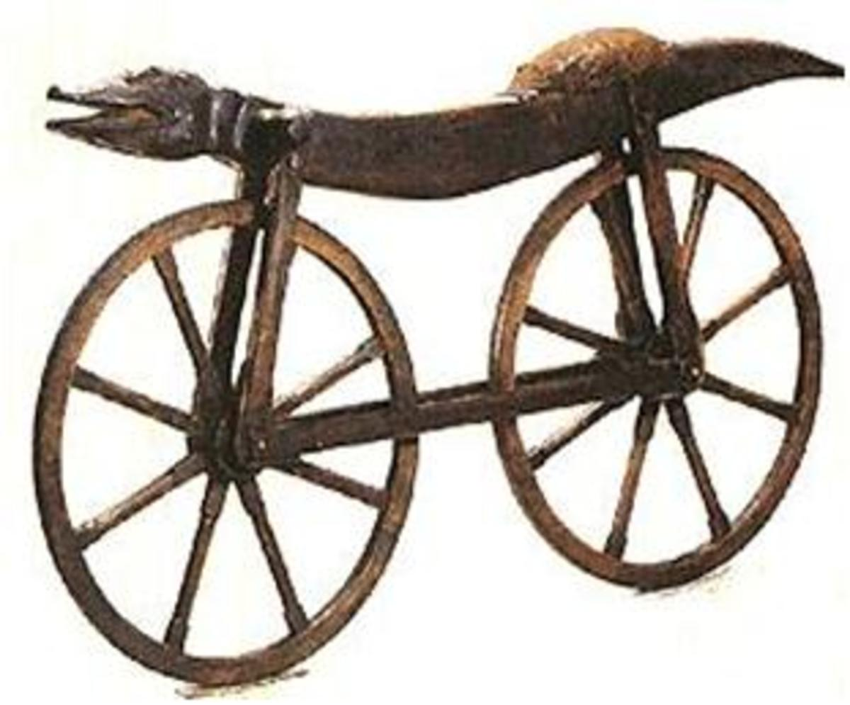 CELERIFERE the first vehicle free from animals knows as the first generation bicycle paved way for series of new discoveries leading modern cycles.