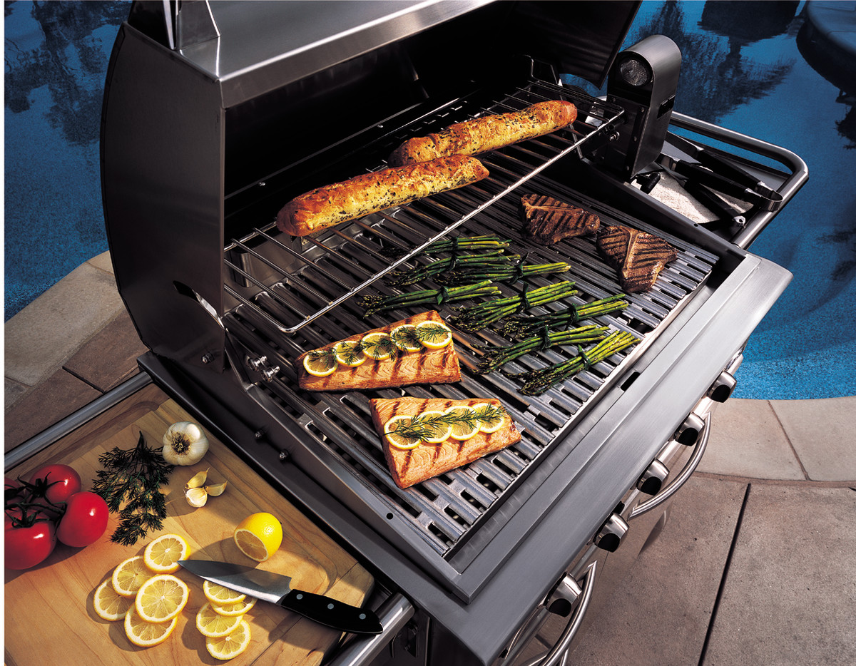 "DCS grill parts all very high quality and cooking grates on this 36"" grill are cast stainless steel.  I have never used anything heavier or more long lasting.  The concave/convex reversible design is very useful for additional grilling flavor."