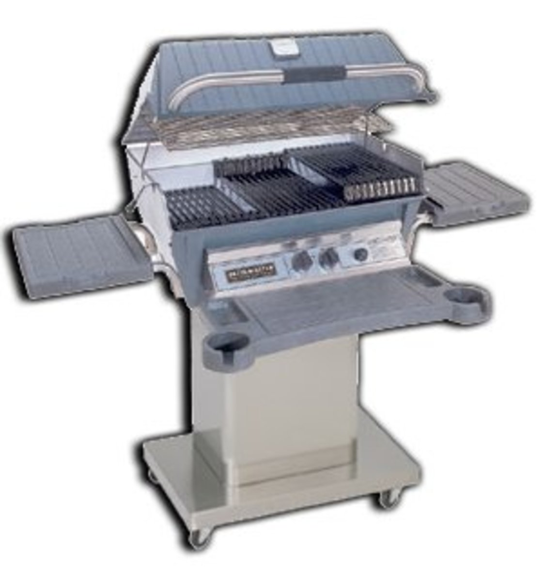Broilmaster BBQ grill cooking grates have the ability to change their distance from the gas flame because of the design of the coking grates.