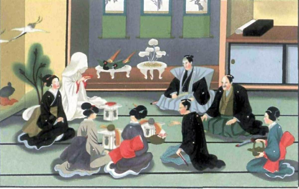 Traditional Japanese Wedding Ritual