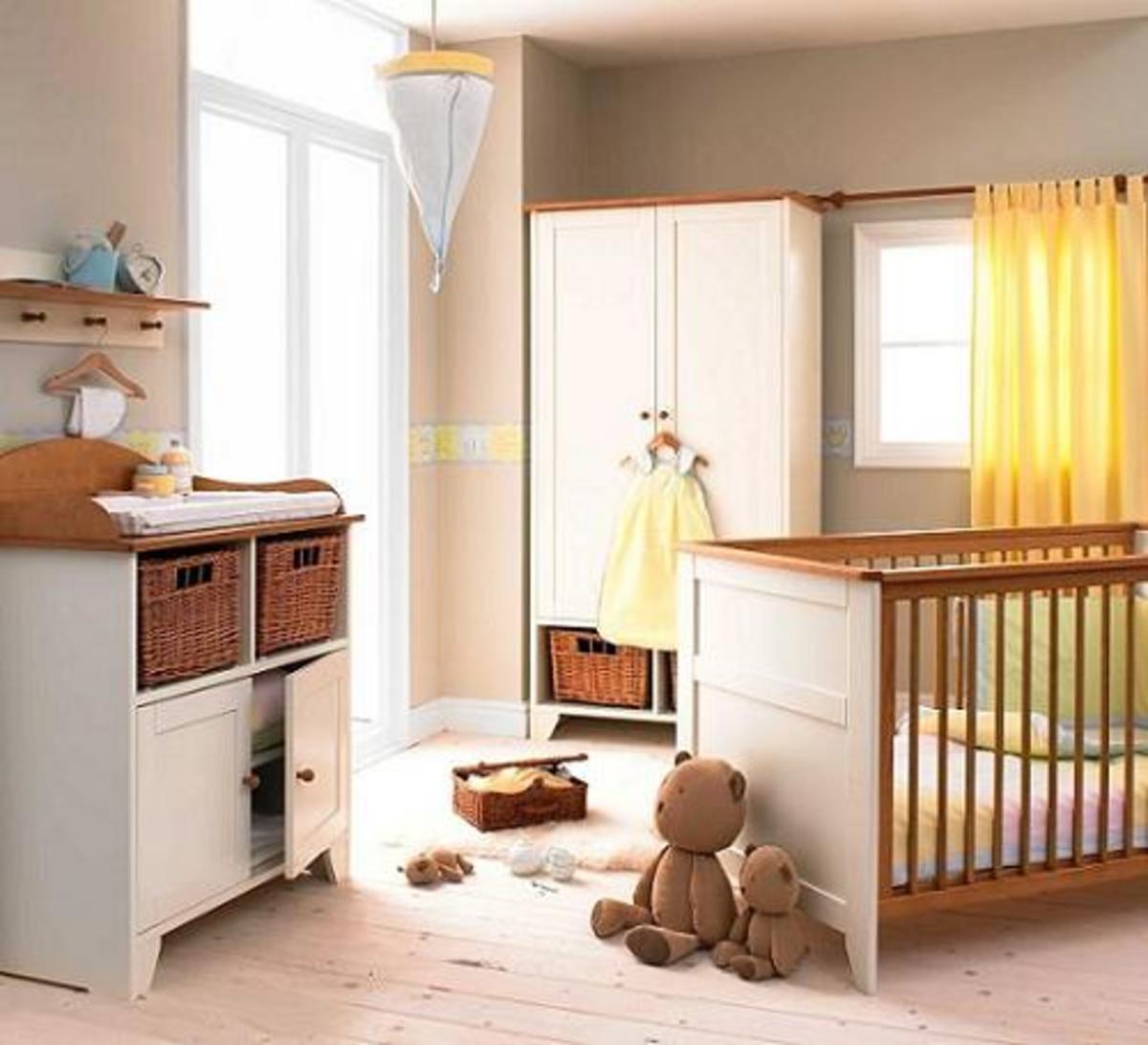 Brown nursery