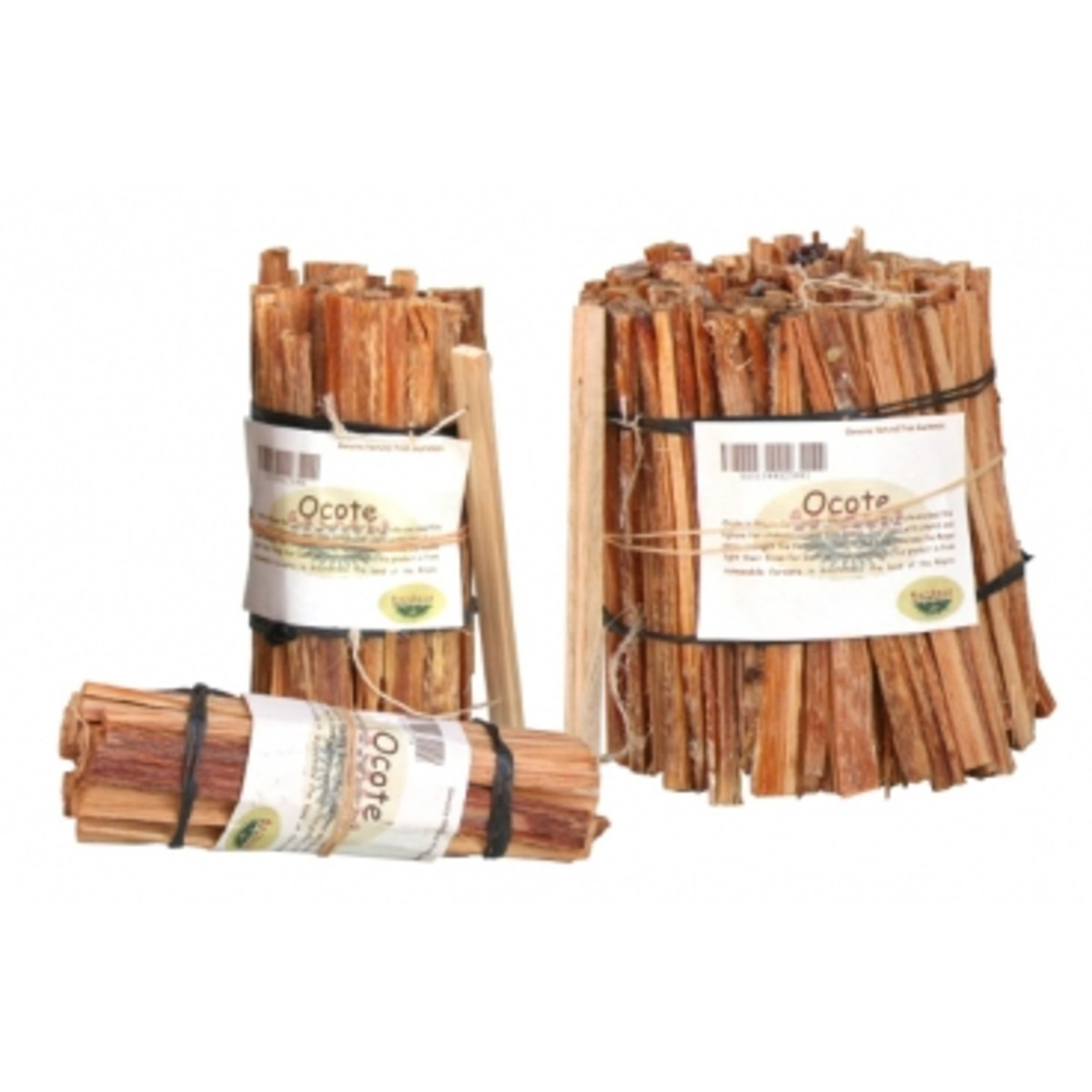 Natural Ocote firelighter from the slopes of the mountains in Central America