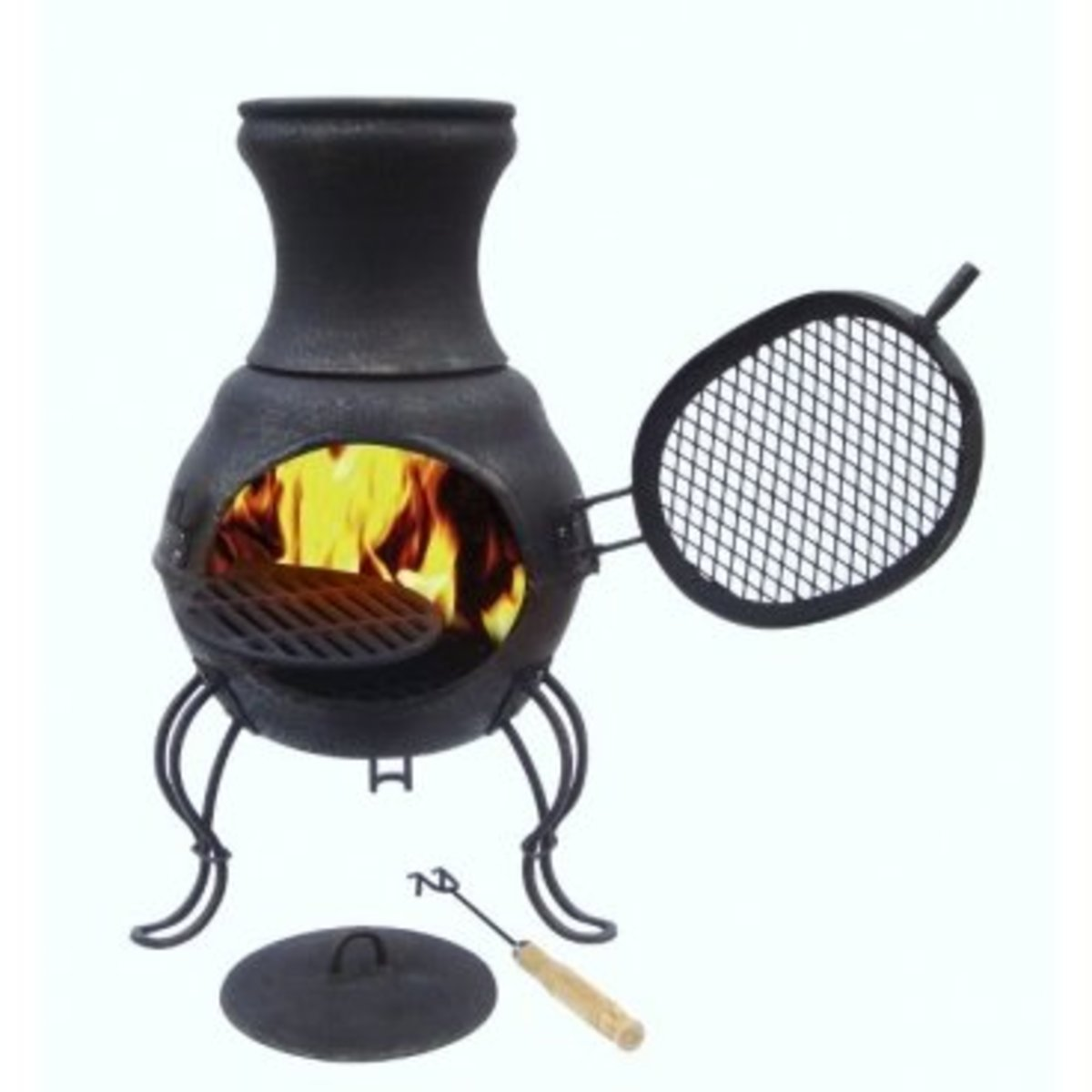 Read on to find out more about starting a fire in your chiminea.