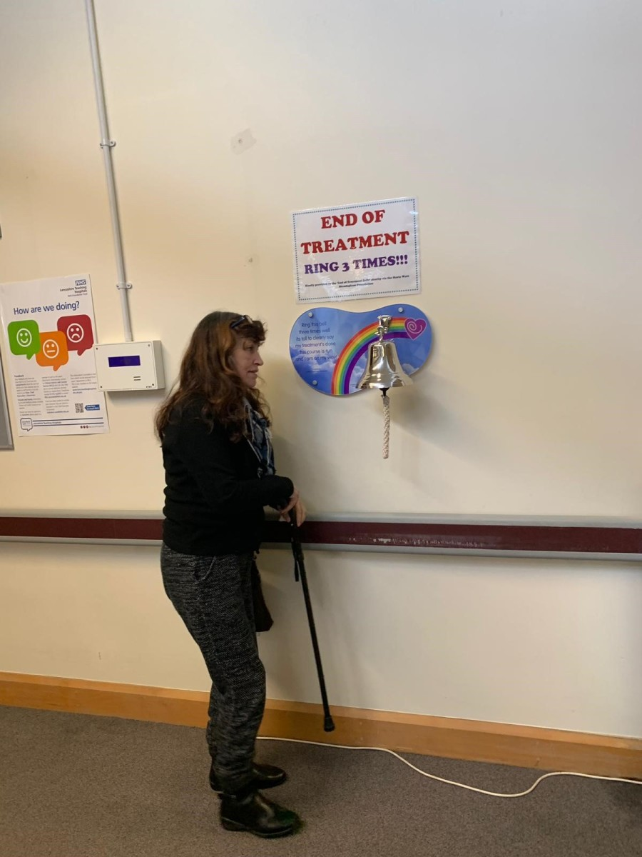 Ringing the bell for the end of treatment