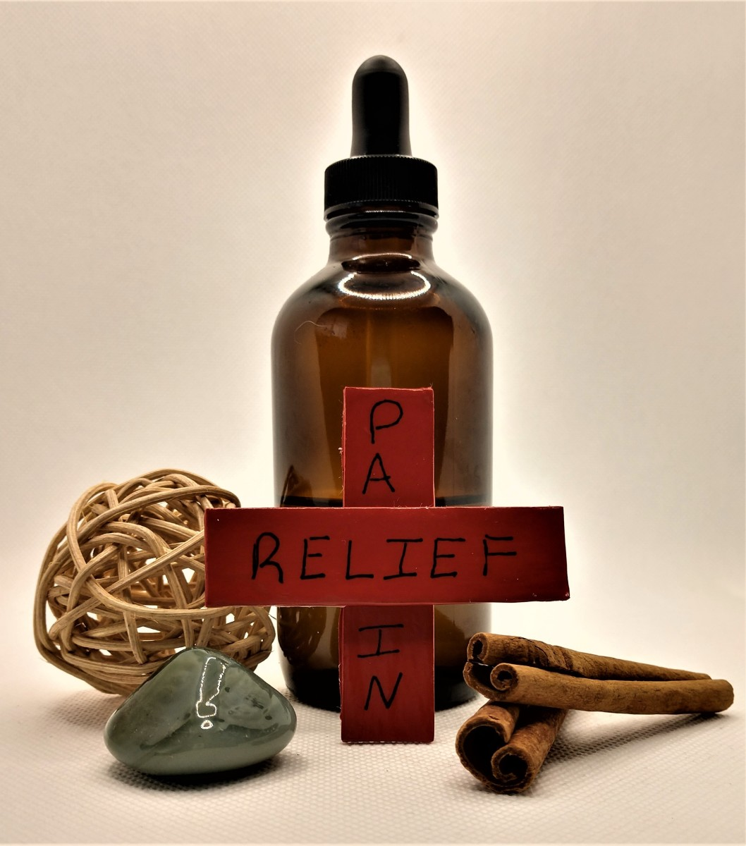 Diy Pain Relief Oil
