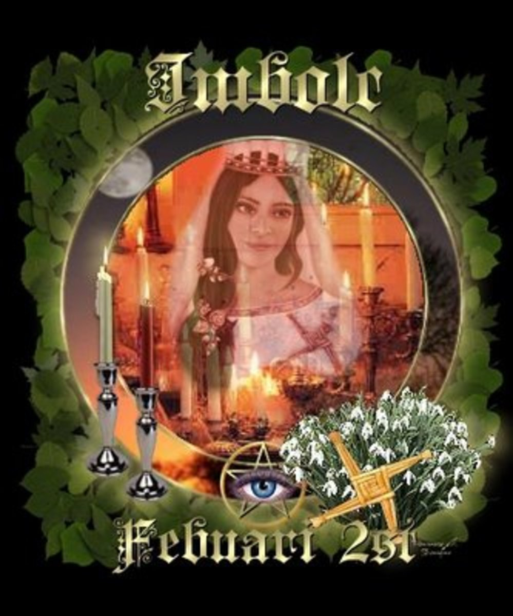 Imbolc - Candlemas 2nd February Celebrate the real first day of Spring. British Traditions