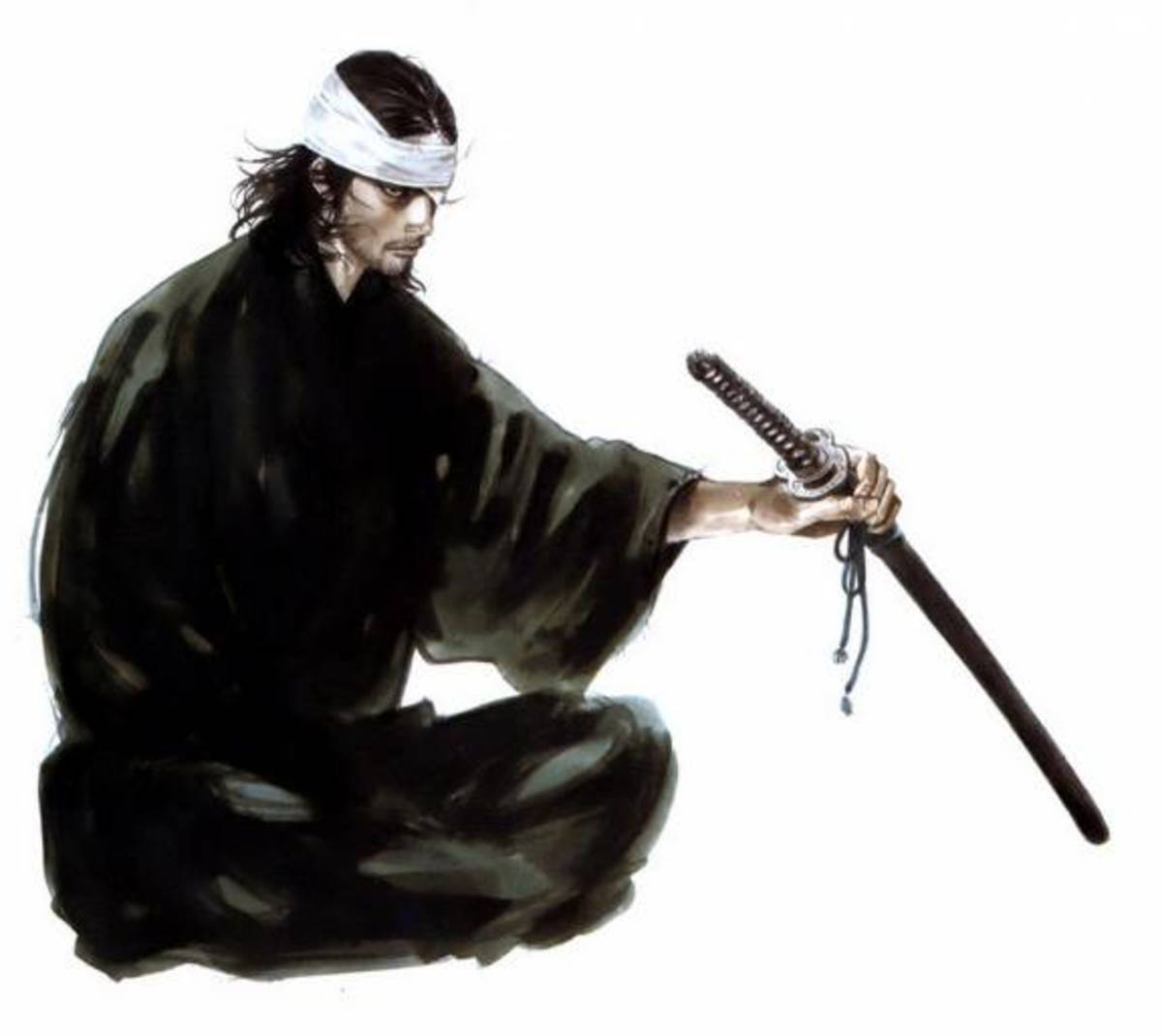 Japanese swordsman