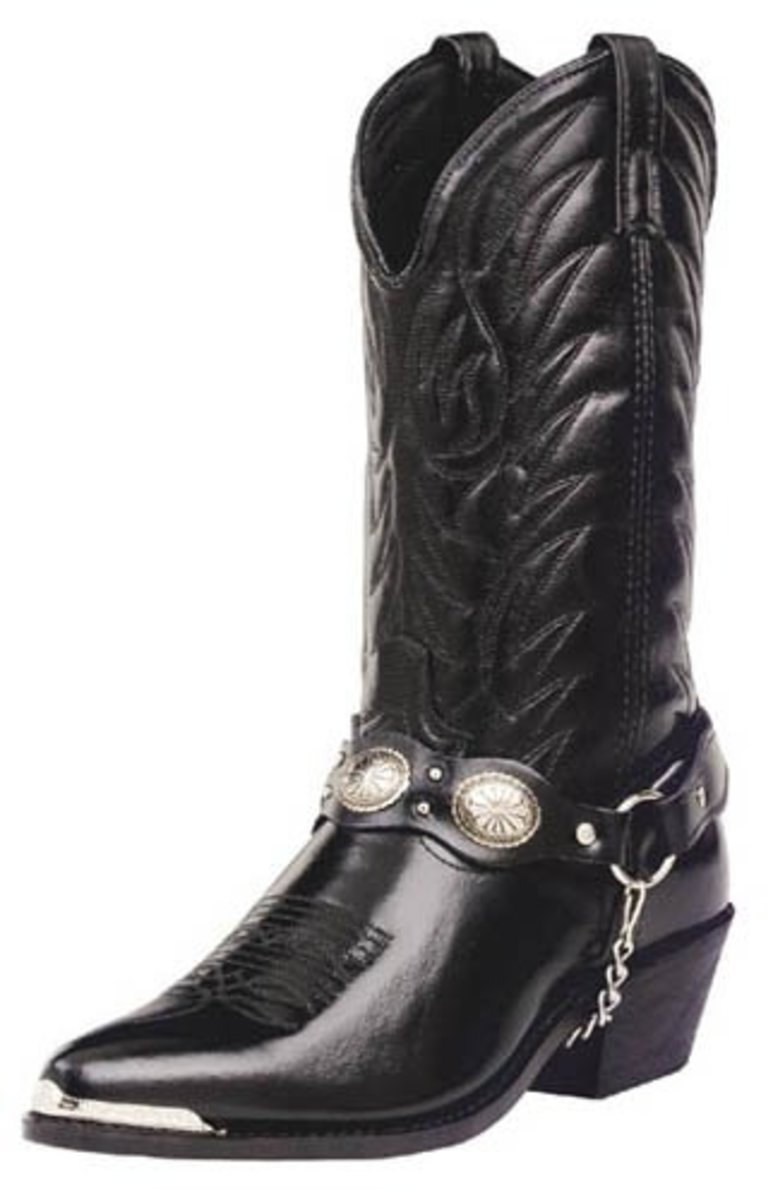 Men's Classic Cowboy Boot in Black