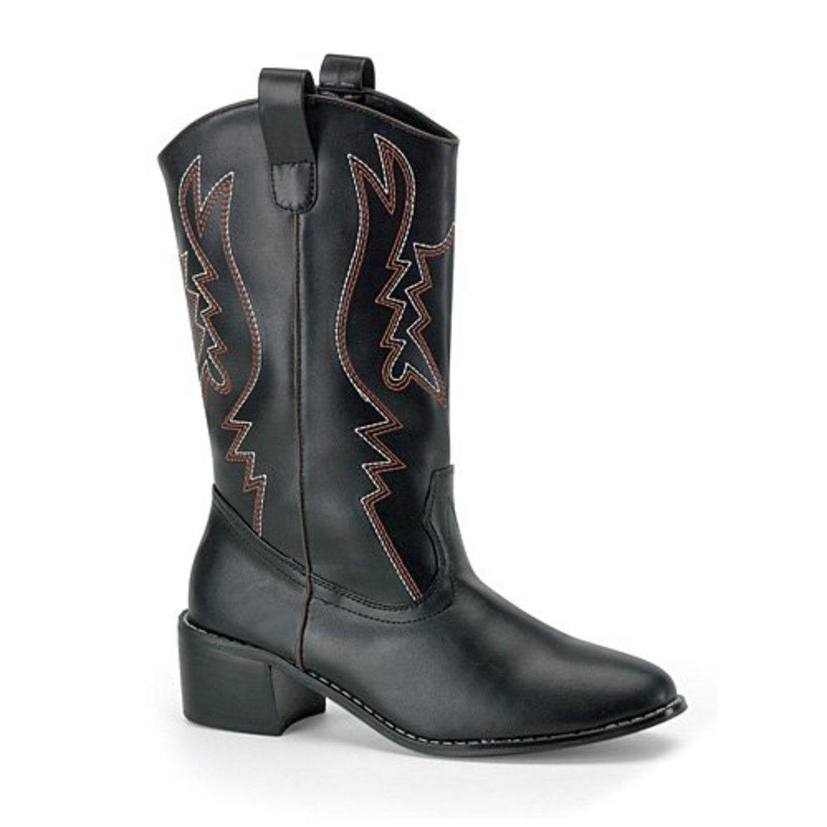 Funtasma by Pleaser Men's Cowboy 100 Boot