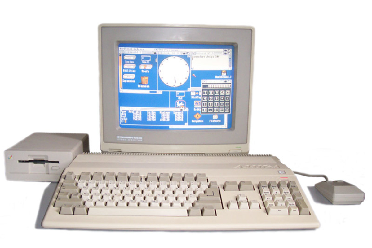 The Amiga 500 was a revolutionary machine