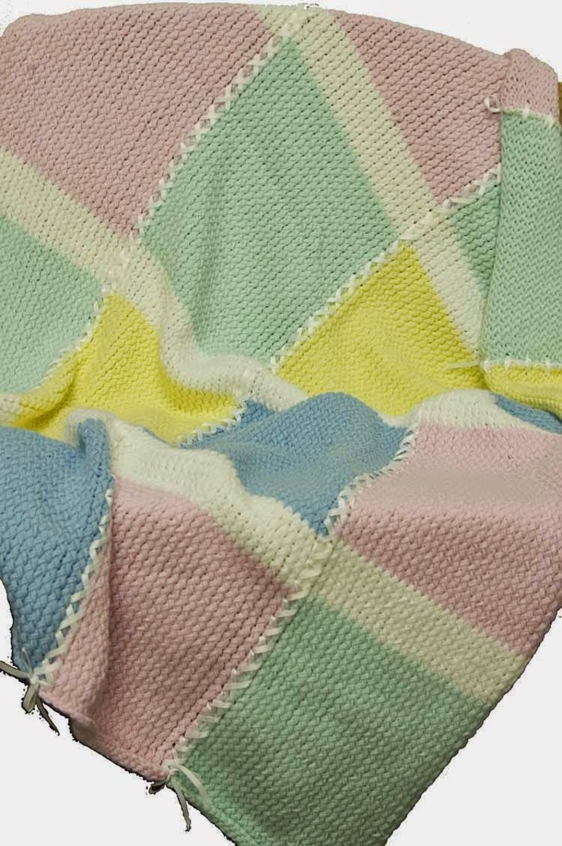Knifty Knitter Baby Afghan