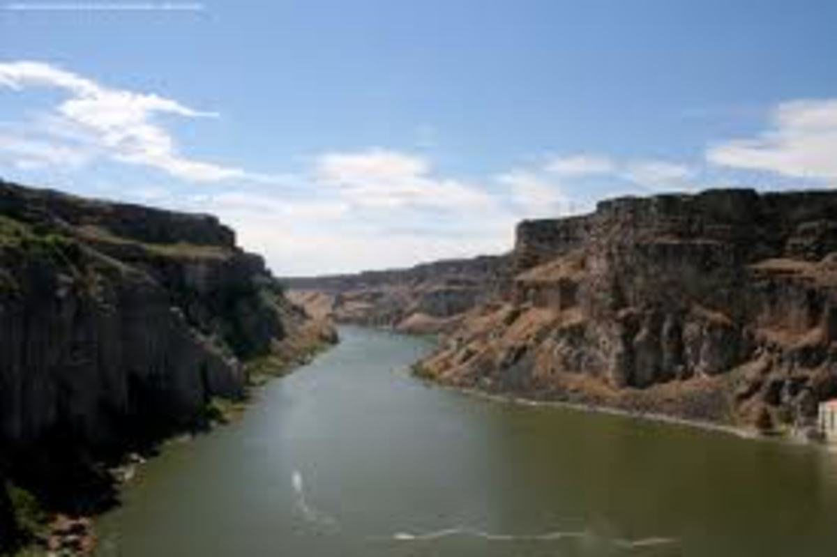 Chief Nampa is said to have dove off cliffs and swam the Snake River with ease.