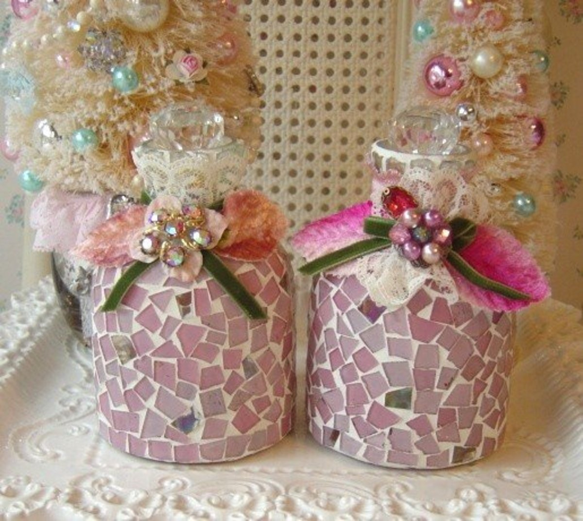 pink bathroom accessories on etsy