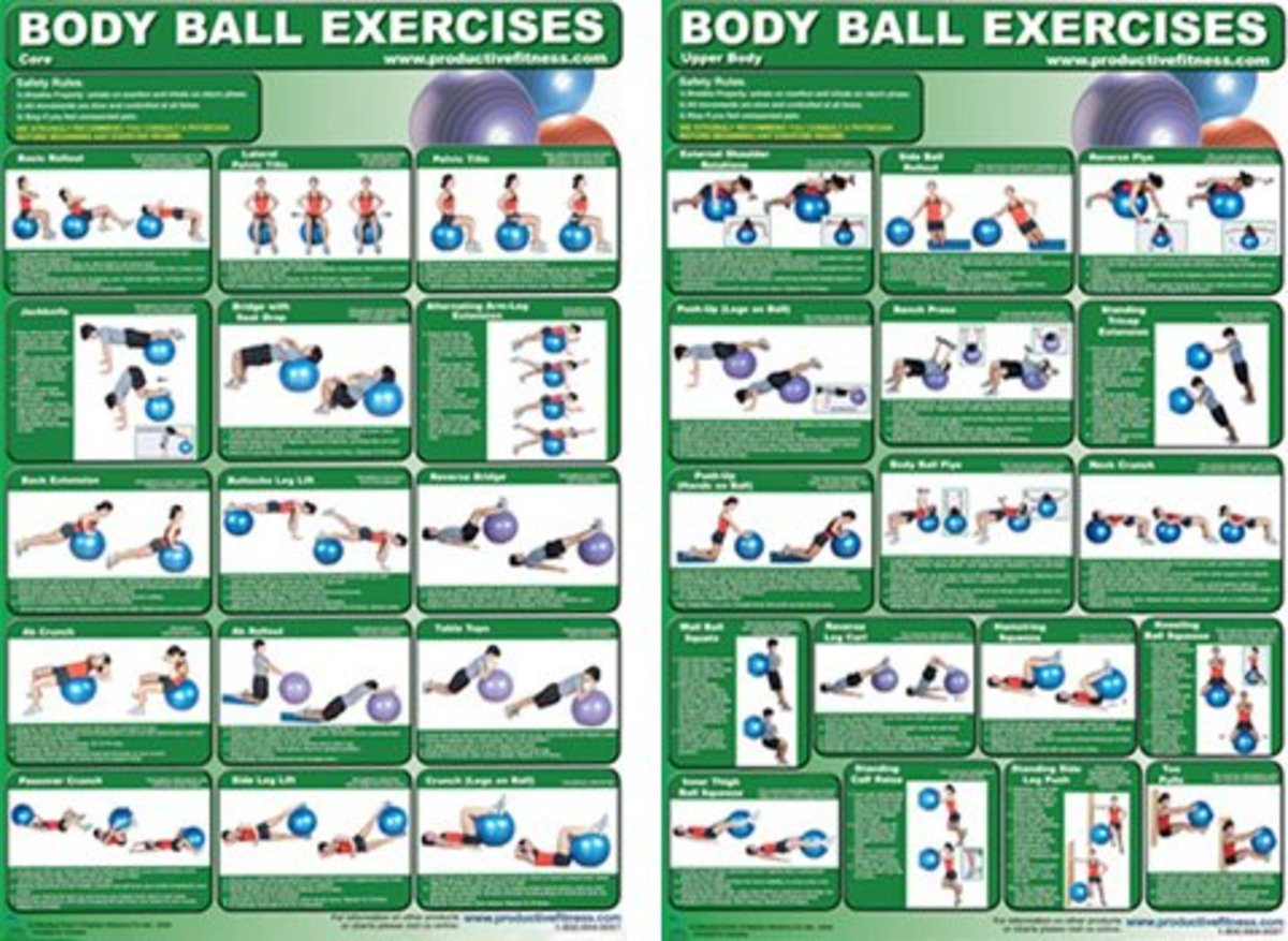 Medicine Ball and Stability Ball Exercise