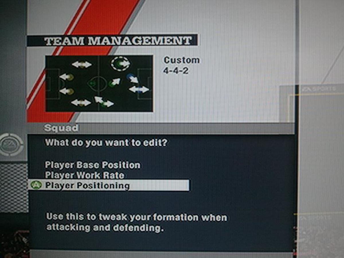 Custom formations let you manage how a position will play, amongst the other things. This aids your control of the off-the-ball AI  and the runs they make. Now it can be where YOU want them to go, not where they want you to pass