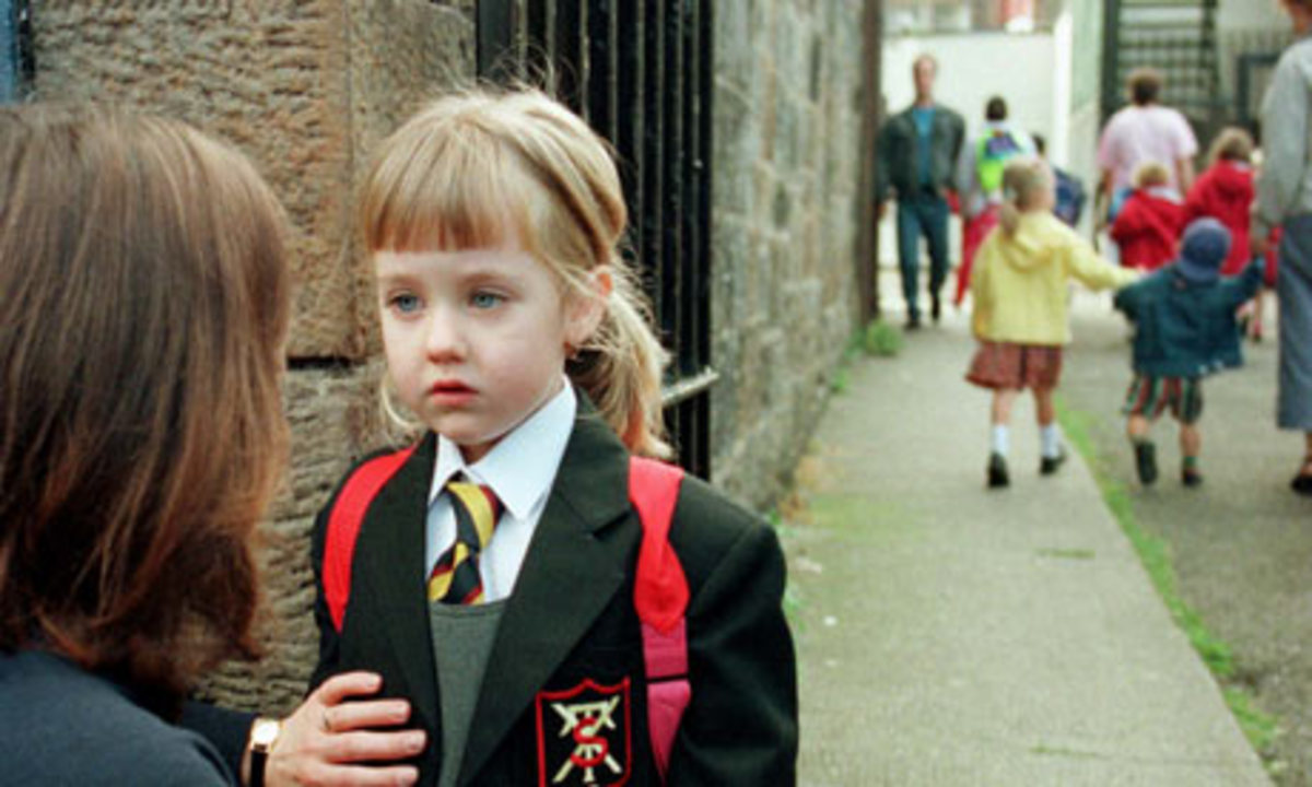 The Reluctant School Child