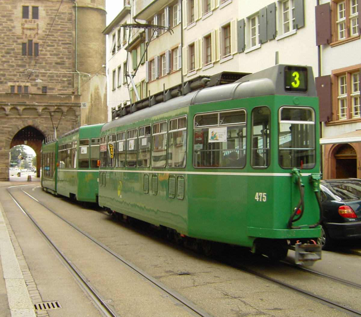 Basel streetcar