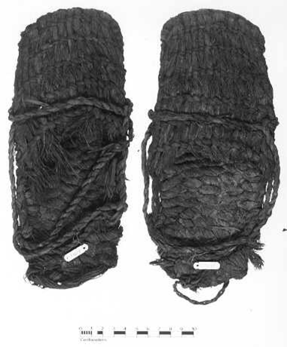 Sagebrush Bark Sandal from Fort Rock Cave