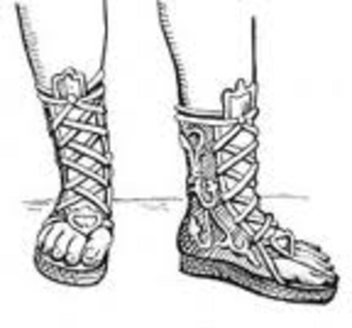 Cothurnus Sandal