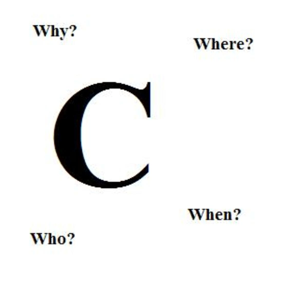 Why C Programming Language Has Been Named as C?