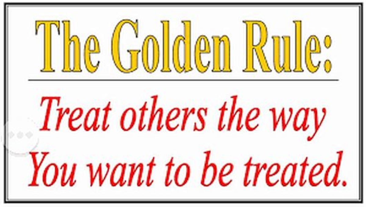 Every religion has a Golden Rule.