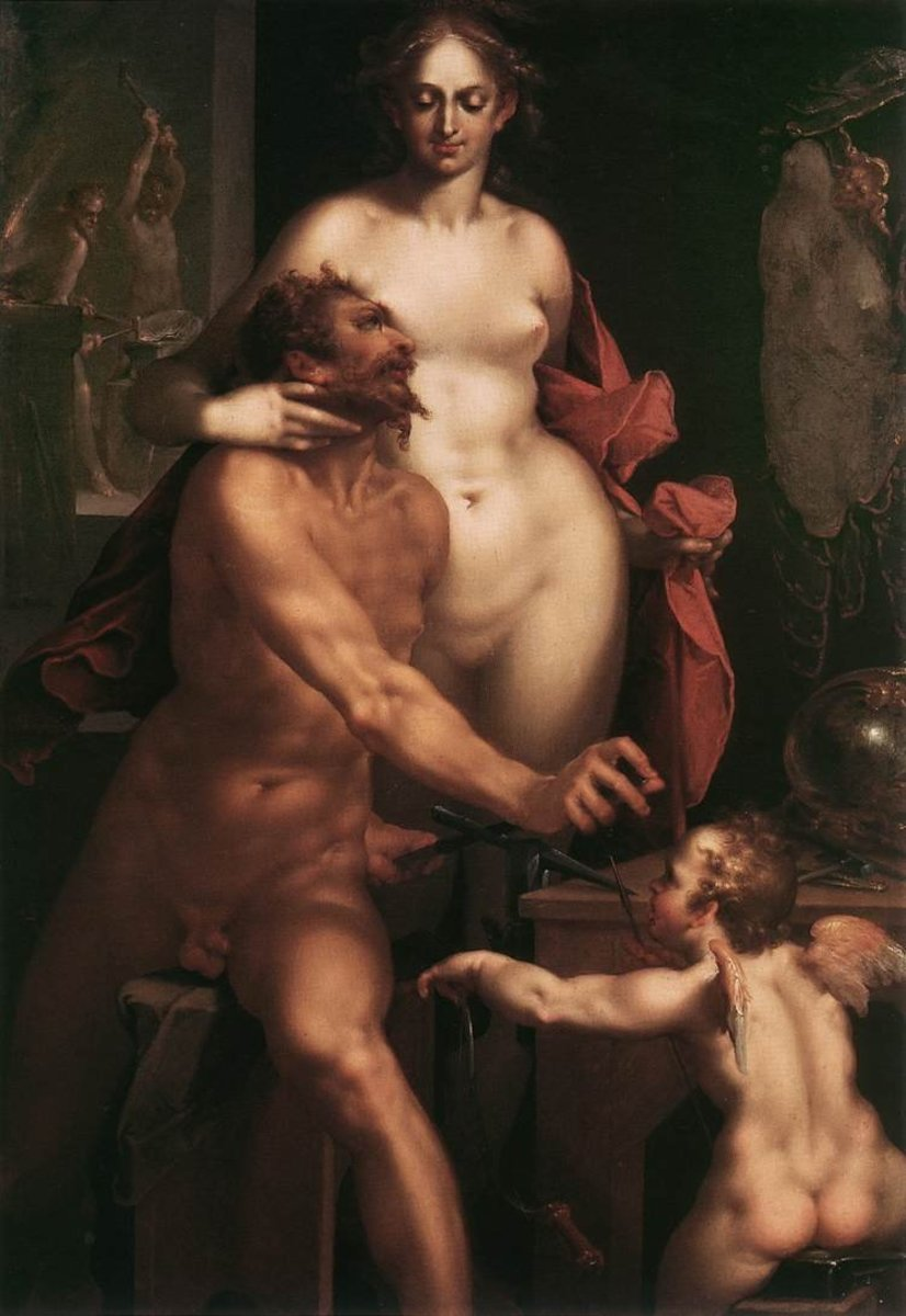 Aphrodite and Haephestus