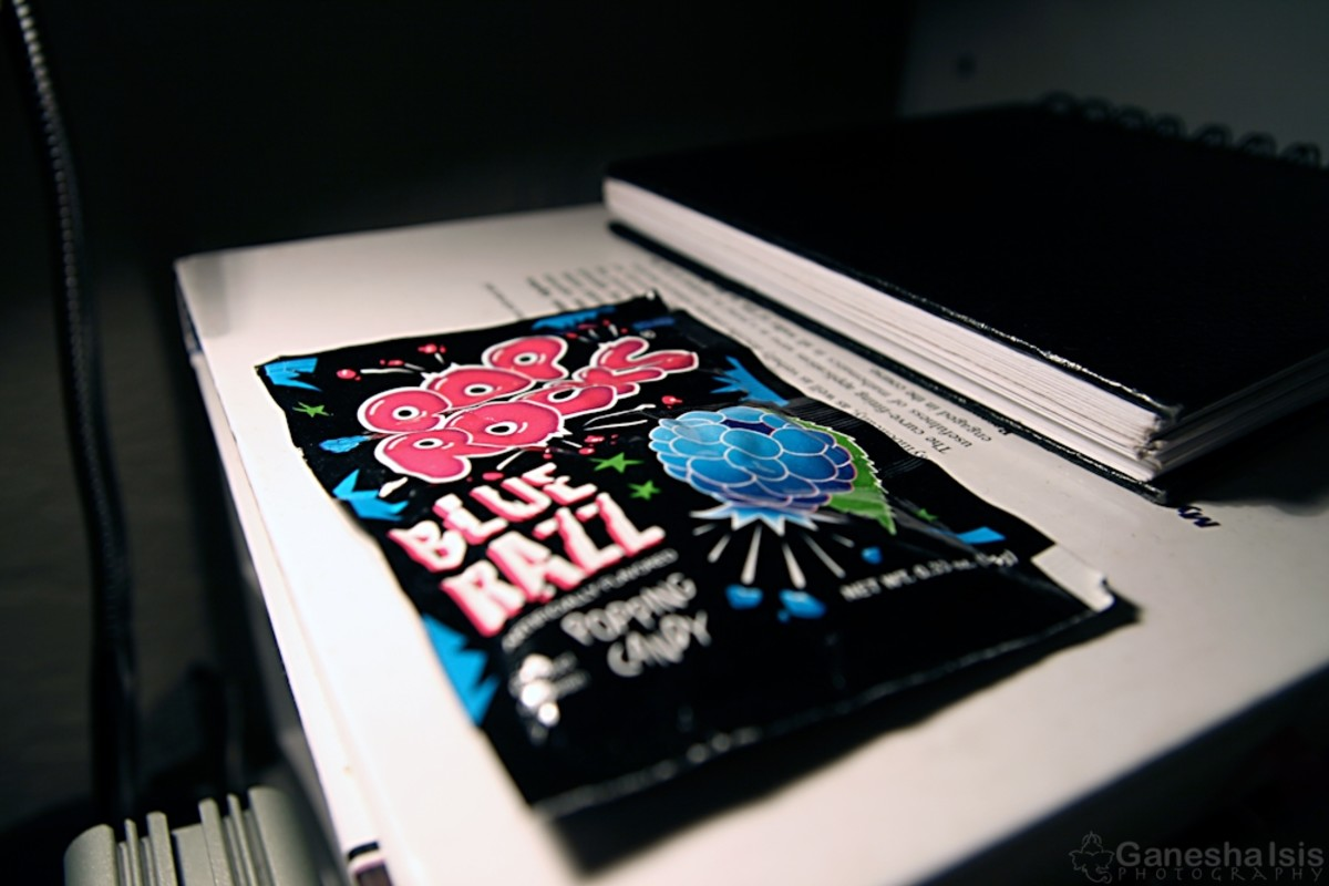 Pop Rocks come in a variety of flavors.