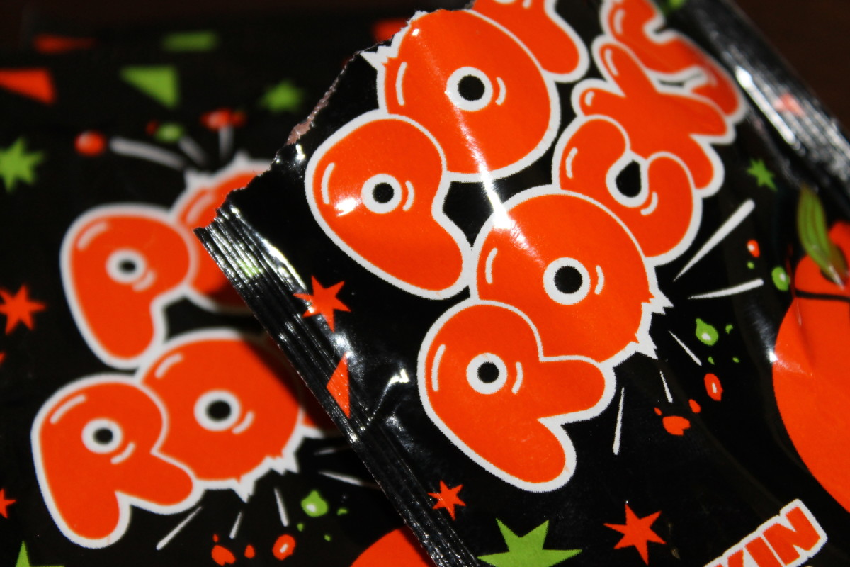 Pop Rocks come in packets and are known for their popping sensation!