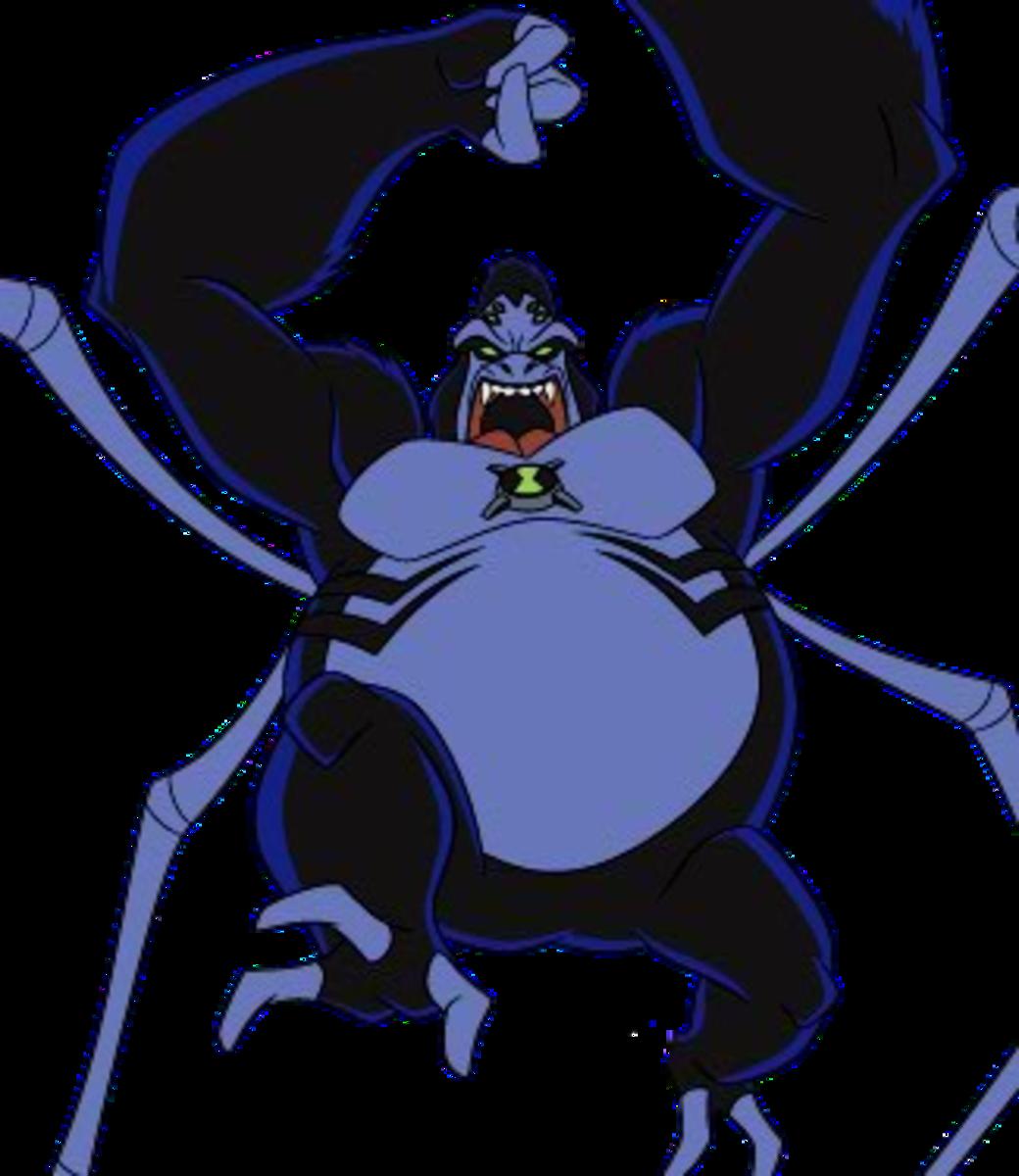 Ben 10 Ultimate Alien Spider Monkey