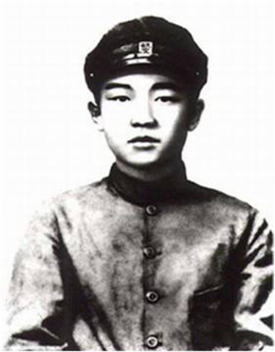 Teenage Kim Il Sung