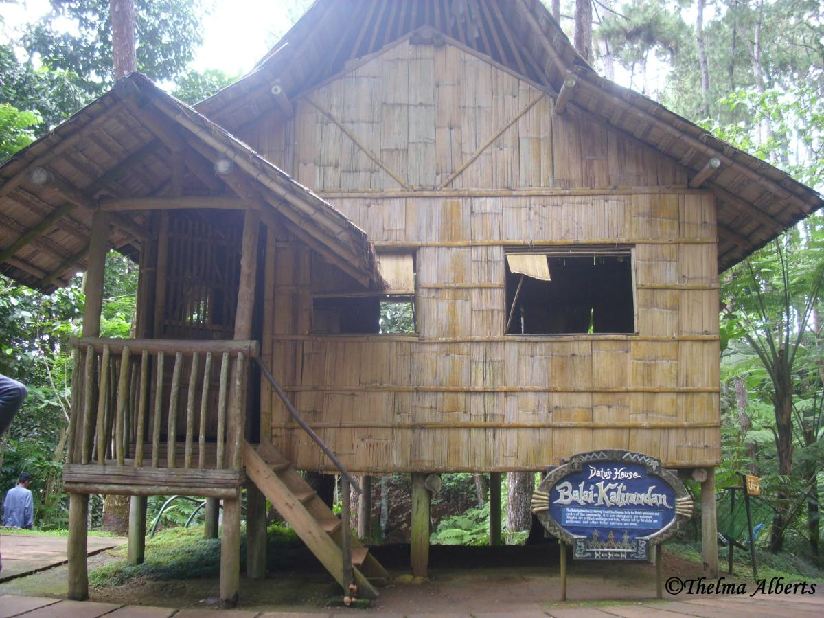 A traditional Filipino House, taken when I visited Eden Nature Park and Resort in Davao City