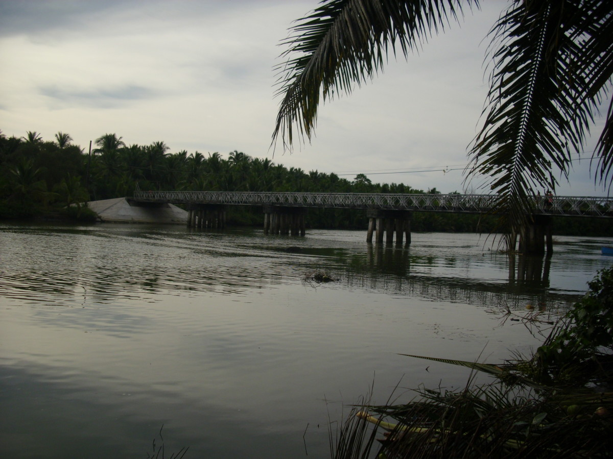 Gihaw-an River, Buenavista, Agusan Del Norte, Philippines, photo taken  last  2011.