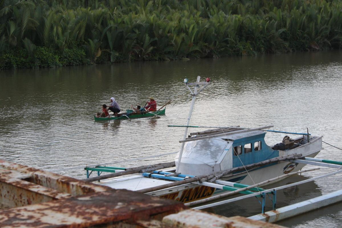 Gihaw-an River, taken last March 2013