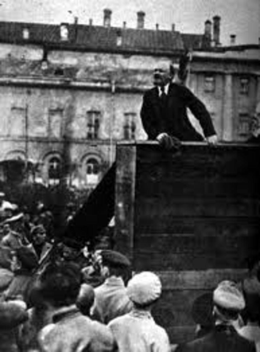 Lenin and The October  Revolution