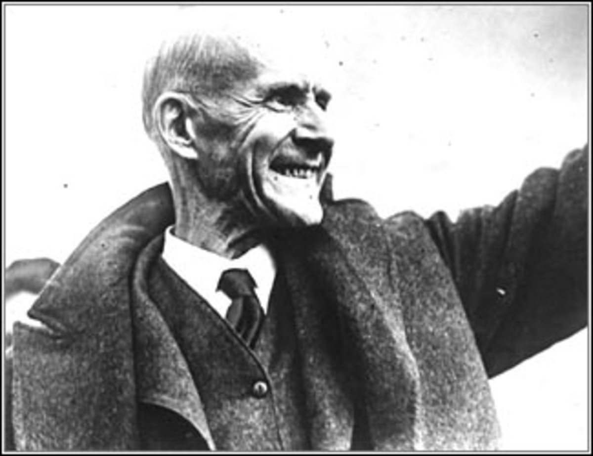 Eugene Debs, one of the many early Progressives who identified themselves as socialists