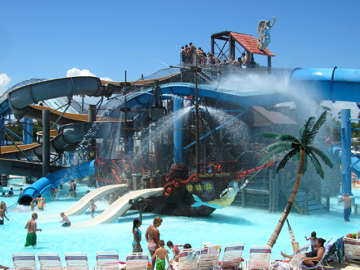 Adventure Island Water Park In Tampa Fl The Sister Water Park Of Busch Gardens Florida