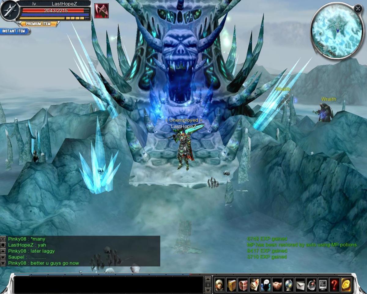 Walkthrough for Frozen Tower of Undead B1f Cabal Online