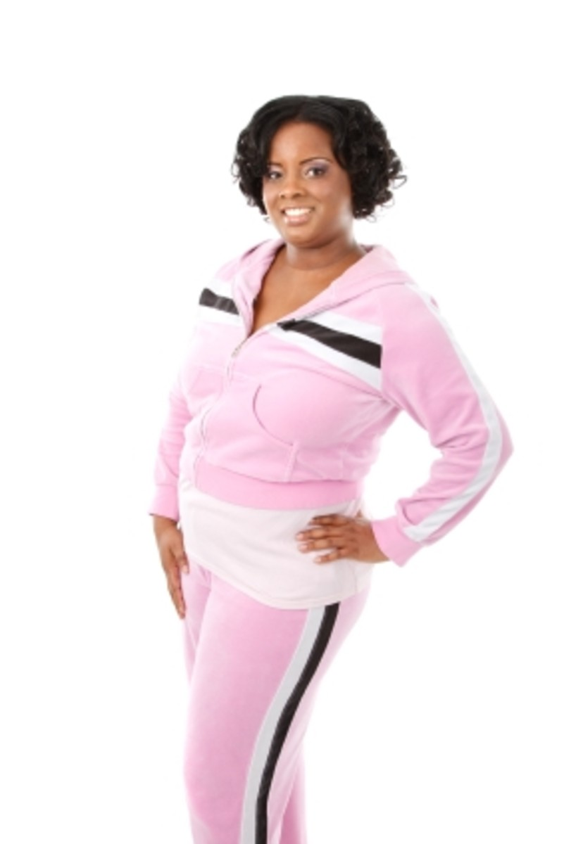 Look slimmer whether exercising or lounging around the house.