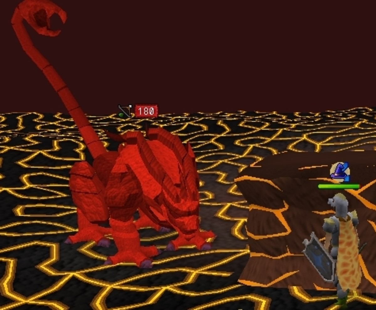 Runescape Fight Cave: How To Kill Jad The Easy Way and Win the Fire Cape