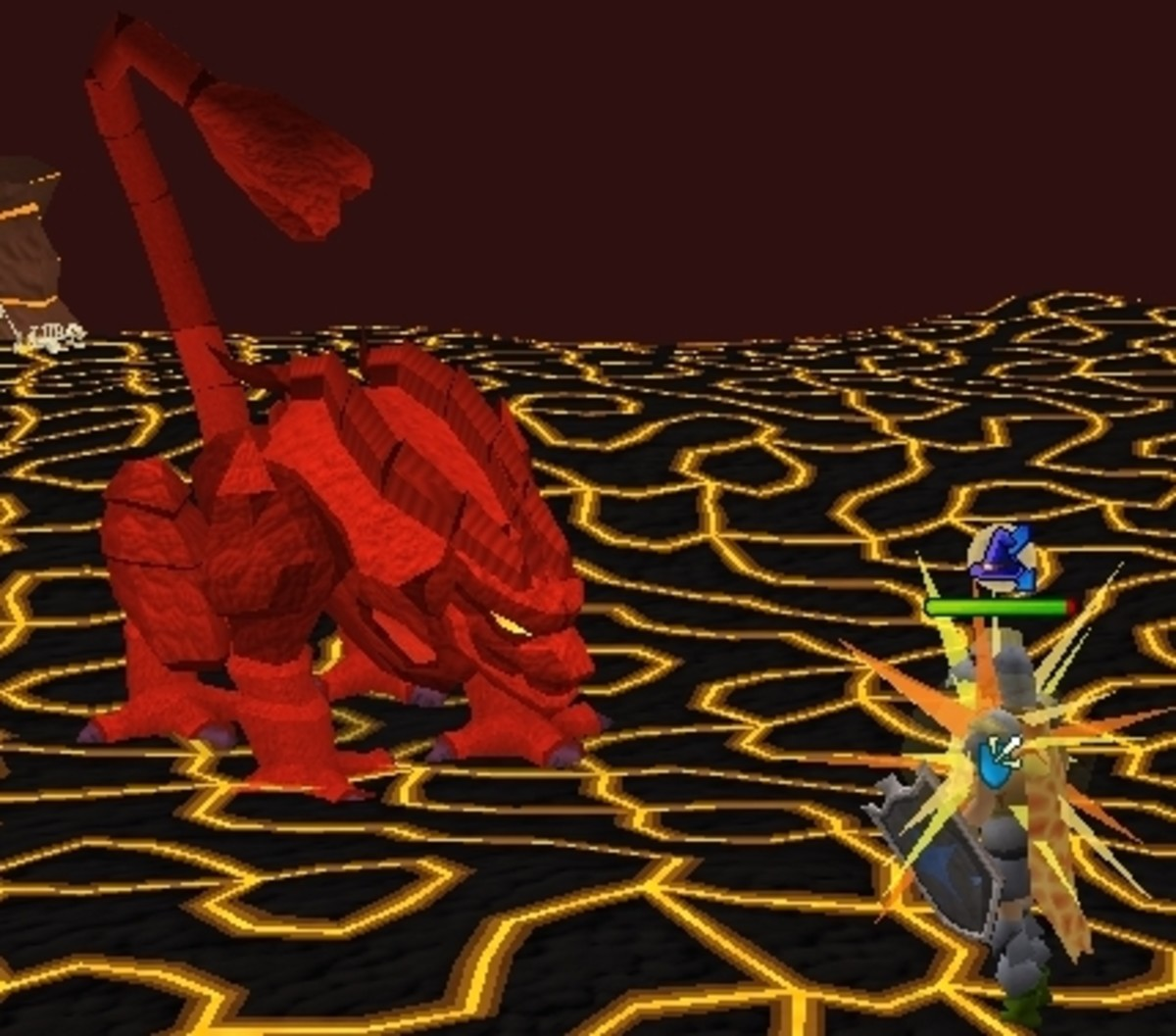 Runescape Fight Cave: How To Kill Jad The Easy Way and Win the Fire Cape | HubPages