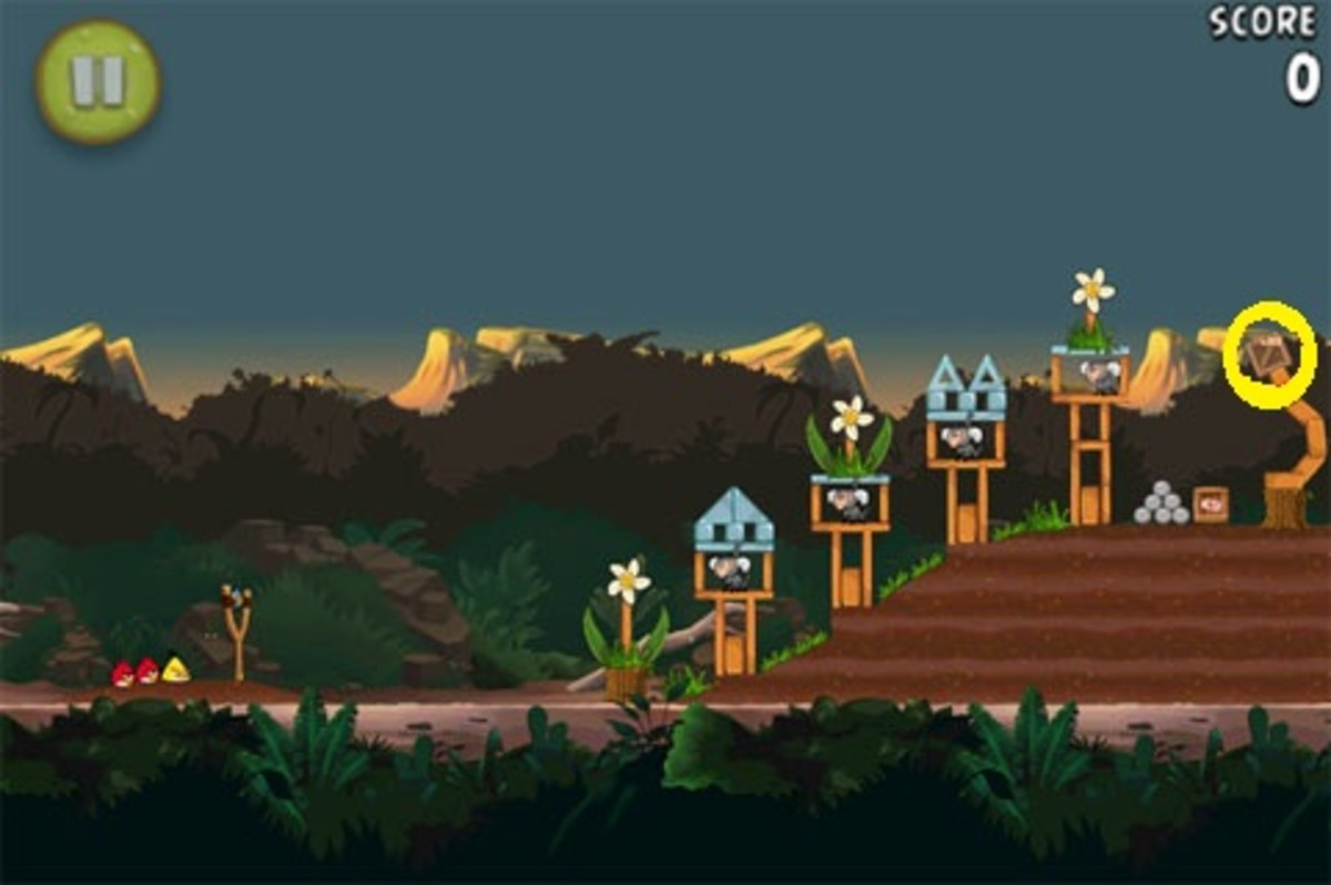 Angry Birds Rio Golden Bananas Locations - 15 Simple Gold Walkthroughs