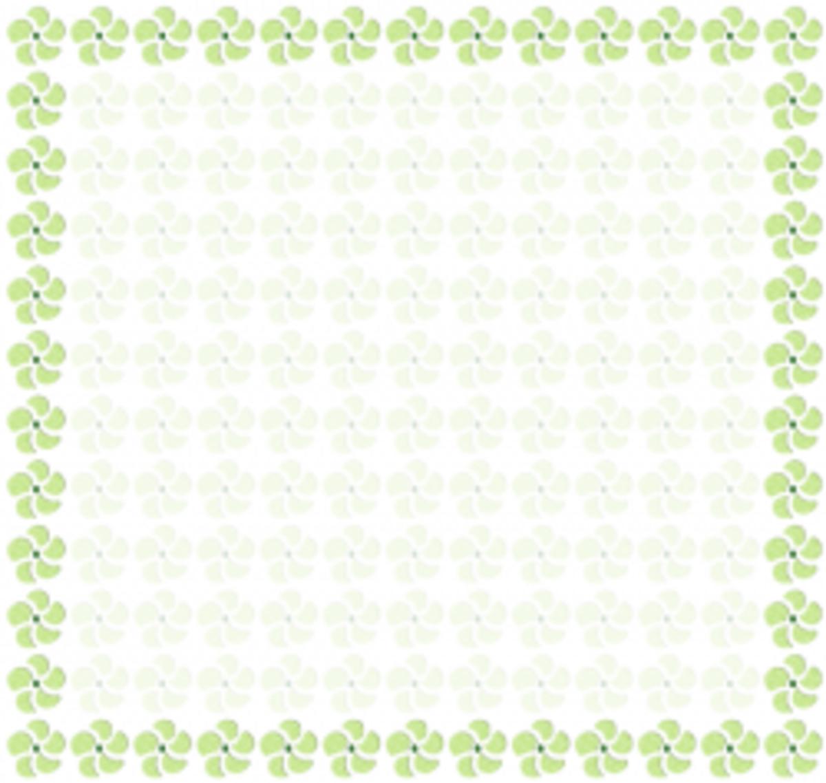 Spring Patterns & Clip Art Frames