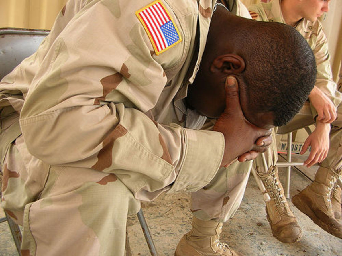 Living with a combat veteran with PTSD: The Reality