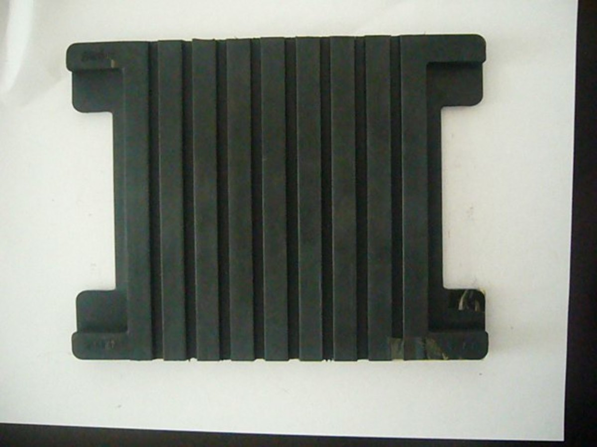 Rail-Pad for a Concrete Sleeper